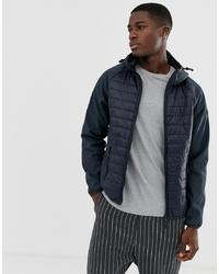 Мужская темно-синяя куртка-пуховик от Esprit