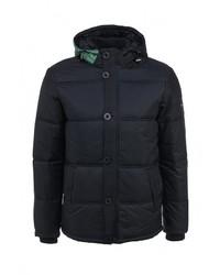 Мужская темно-синяя куртка-пуховик от F5