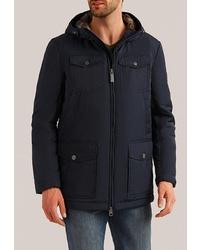 Мужская темно-синяя куртка-пуховик от FiNN FLARE