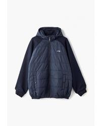 Мужская темно-синяя куртка-пуховик от Galion
