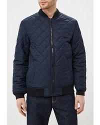 Мужская темно-синяя куртка-пуховик от Modis