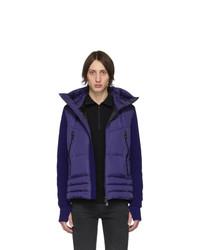Мужская темно-синяя куртка-пуховик от MONCLER GRENOBLE