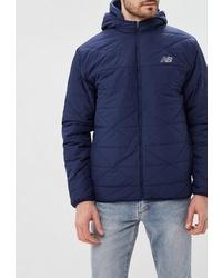Мужская темно-синяя куртка-пуховик от New Balance