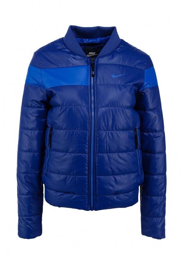 9734d79c Женская темно-синяя куртка-пуховик от Nike, 5 590 руб. | Lamoda ...