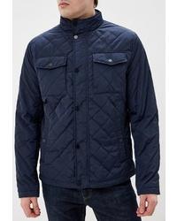 Мужская темно-синяя куртка-пуховик от O'stin