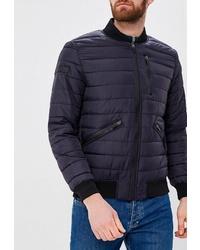Мужская темно-синяя куртка-пуховик от OMBRE