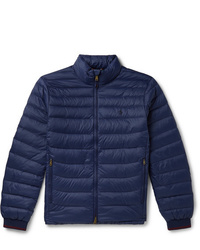 Мужская темно-синяя куртка-пуховик от Polo Ralph Lauren