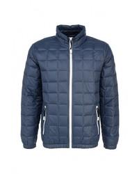 Мужская темно-синяя куртка-пуховик от s.Oliver Denim