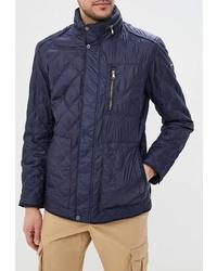 Мужская темно-синяя куртка-пуховик от Tais