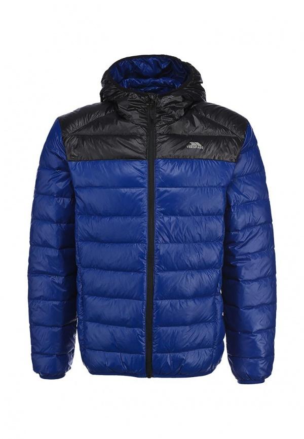 Мужская темно-синяя куртка-пуховик от Trespass