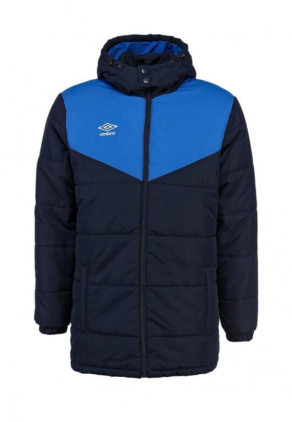 Мужская темно-синяя куртка-пуховик от Umbro