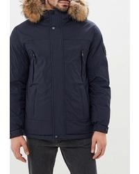Мужская темно-синяя куртка-пуховик от Winterra