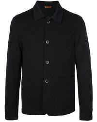 Мужская темно-синяя куртка-рубашка от Barena
