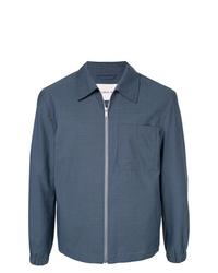 Мужская темно-синяя куртка-рубашка от Cerruti 1881