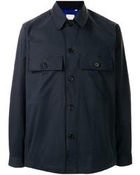 Мужская темно-синяя куртка-рубашка от Paul Smith