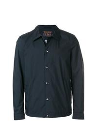 Мужская темно-синяя куртка-рубашка от Woolrich