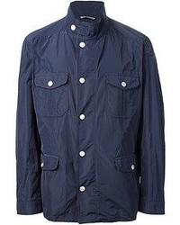 Темно-синяя полевая куртка