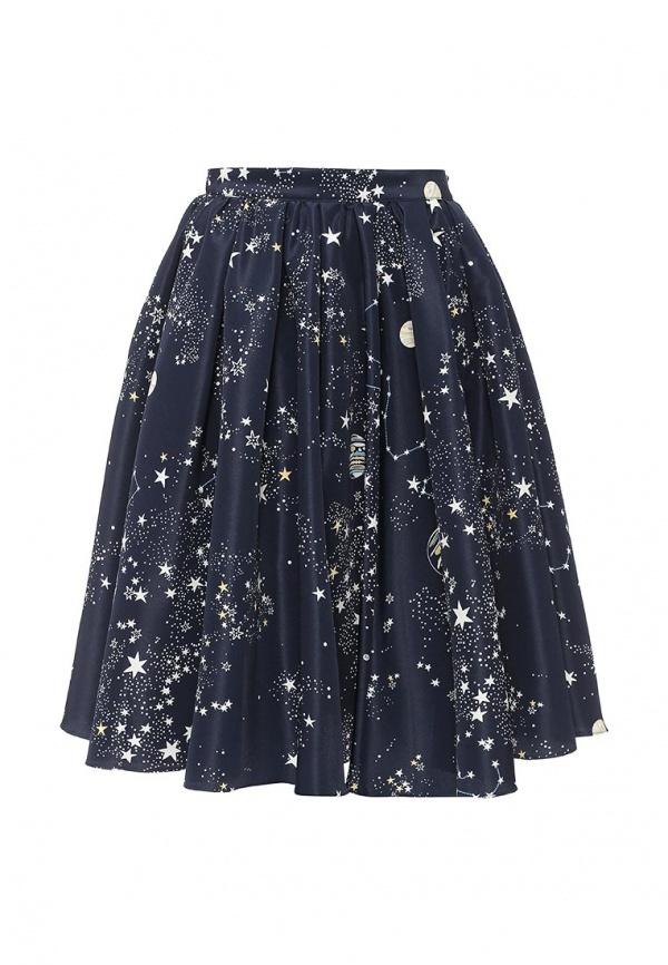 Синяя юбка бифри