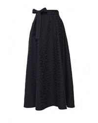 Темно-синяя пышная юбка от Love & Light