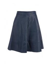 Темно-синяя пышная юбка от Rinascimento