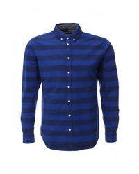 Мужская темно-синяя рубашка с длинным рукавом от Casual Friday by Blend