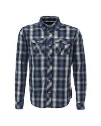 Мужская темно-синяя рубашка с длинным рукавом от Fresh Brand