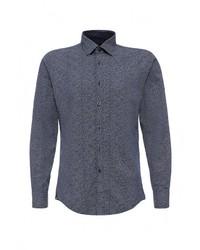 Мужская темно-синяя рубашка с длинным рукавом от JOOP!