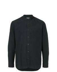 Мужская темно-синяя рубашка с длинным рукавом от Kent & Curwen