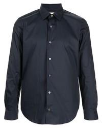 Мужская темно-синяя рубашка с длинным рукавом от Paul Smith