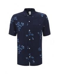 Мужская темно-синяя рубашка с коротким рукавом от Gap