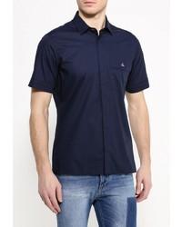 Мужская темно-синяя рубашка с коротким рукавом от Vivienne Westwood