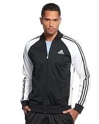 Мужская темно-синяя университетская куртка от adidas