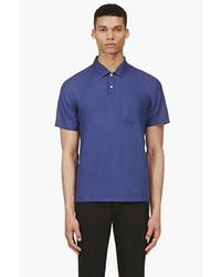 Мужская темно-синяя футболка-поло от Marc by Marc Jacobs