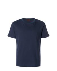 Мужская темно-синяя футболка с круглым вырезом от Barena