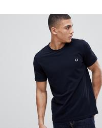 Мужская темно-синяя футболка с круглым вырезом от Fred Perry