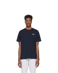 Мужская темно-синяя футболка с круглым вырезом от Reebok Classics