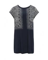 Женская темно-синяя футболка от Sela