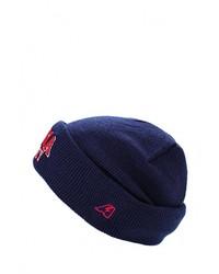 Мужская темно-синяя шапка с принтом от Atributika & Club™