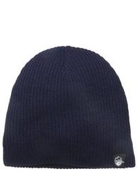 Темно-синяя шапка