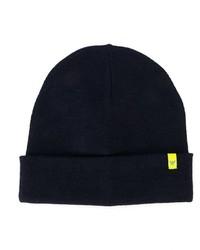Детская темно-синяя шапка для мальчику от Armani Junior