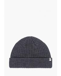 Мужская темно-синяя шапка от Billabong
