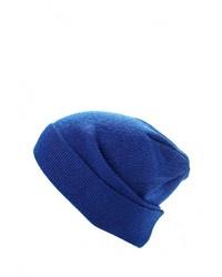 Мужская темно-синяя шапка от Check Ya Head