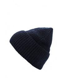 Мужская темно-синяя шапка от Lacoste