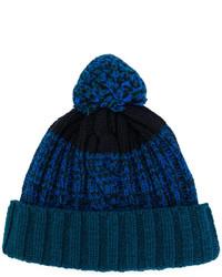 Мужская темно-синяя шапка от Paul Smith