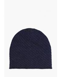 Мужская темно-синяя шапка от Regarzo
