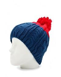 Мужская темно-синяя шапка от Salomon