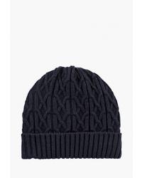 Мужская темно-синяя шапка от Sela