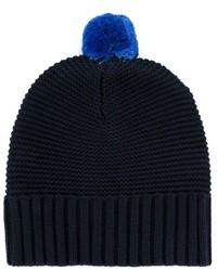 Детская темно-синяя шапка для мальчику от Stella McCartney
