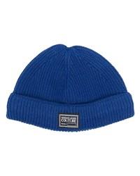 Мужская темно-синяя шапка от VERSACE JEANS COUTURE