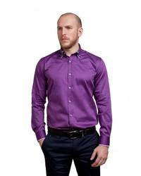 9addb7c8f8aa17c ... Мужская фиолетовая рубашка с длинным рукавом от Sahera Rahmani ...